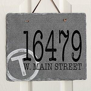 Custom Home Address Plaques Personalizationmall Com