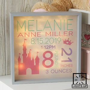 Personalized Baby Picture Frame Sweet Baby Girl