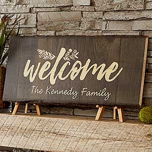 personalized signs wall plaques personalizationmall com