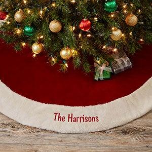 2018 personalized christmas tree skirts personalization mall