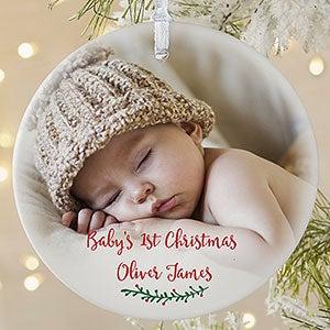 Personalized Christmas Balls.2019 Photo Ornaments Picture Ornaments Personalization Mall