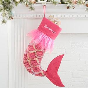 Mermaid Personalized Christmas Stocking - 21011