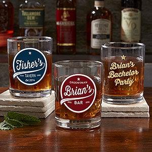 Personalized cocktail glasses Cognac Brewing Co Personalization Mall Personalized Cocktail Glasses Mason Jars Personalizationmallcom