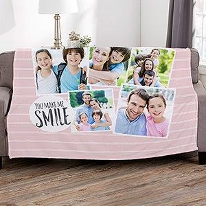 Girl Personalised Embroidered Baby Blanket Boy Newborn Gift Keepsake Feet Year-End Bargain Sale