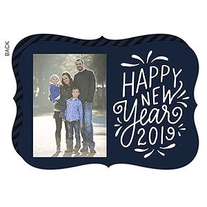 happy new year holiday card premium