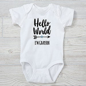 Custom Baby Onesie, New Mom Gift Nurse Gift