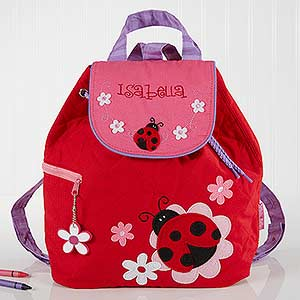 Ladybug Embroidered Kid s Backpack by Stephen Joseph 89485b5dfa453