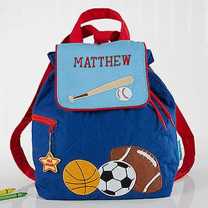 88e8ddf3eb0b All Star Sports Embroidered Kid s Backpack by Stephen Joseph - 5302