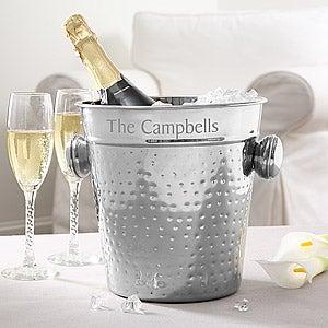 Personalized Ice Buckets Wine Chillers Personalization Mall
