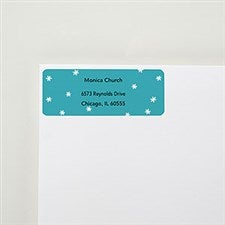 Snowflakes Return Address Labels - 22516