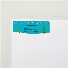 Tree Lot Return Address Labels - 22520