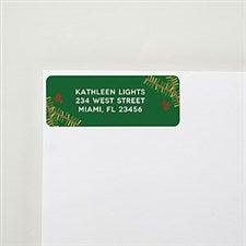 Holly Return Address Labels - 22561