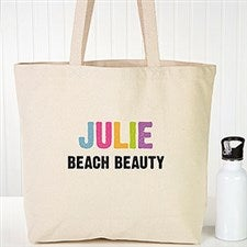 All Mine! Personalized Kids Beach Bags - 22633