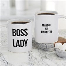Office Expressions Personalized Coffee Mugs - 22649