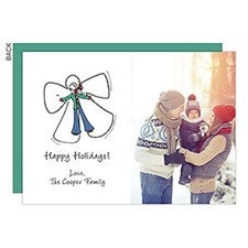 Snow Angel Photo Holiday Cards - 22689