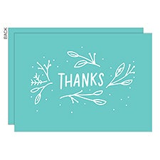 God Bless Personalized Religious Thank You Cards - 22755