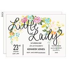 Floral Birthday Party Invitation - 22854