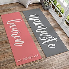 Scripty Style Personalized Yoga Mats - 22866