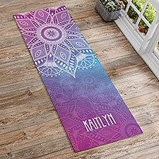 Mandala Personalized Yoga Mats - 22867