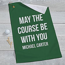 Personalized Golf Towels - Add Any Text - 22873