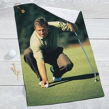 Custom Photo Golf Towel - 22874