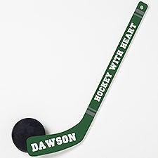 Personalized Mini Hockey Stick - Add Any Text - 22875