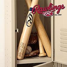 Best Baseball Coach Gift - Personalized Rawlings Baseball Bat - 22882