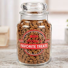 Kitty Kitchen Personalized Cat Treat Jar - 22890