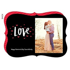 Love Hearts Valentine's Day Custom Photo Cards - 22918