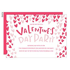 Valentine's & Galentine's Day Personalized Party Invitations - 22922
