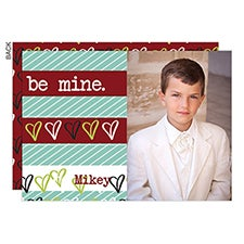 Be Mine Custom Valentine's Day Photo Cards - 22964