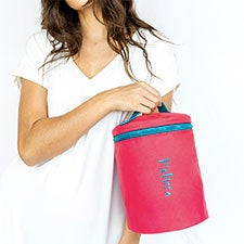 Essential Embroidered Toiletry Travel Bag - 22968