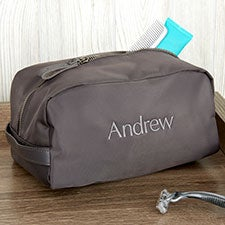 Custom Embroidered Water Resistant Travel Toiletry Bag - 22981