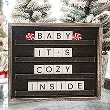Daily Message Changeable Black Letter Board & Tiles - 22989