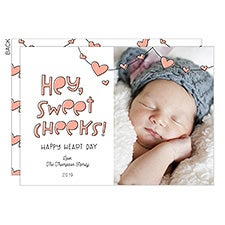 Sweet Cheeks Personalized Valentine's Day Photo Cards - 23018