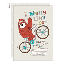 I Wheely Like You Valentine's Day Cards - 23023