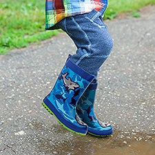 Kids' Shark Rainboots by Stephen Joseph - 23044