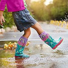 Kids' Mermaid Rain Boots by Stephen Joseph - 23045