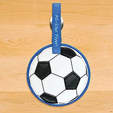 Kids Soccer Ball Sports Luggage Tag by Stephen Joseph - 23049