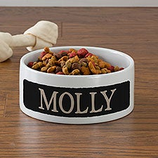 Happy Dog Personalized Pet Bowls - 23054