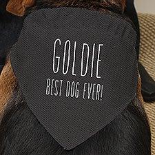 Good Dog Personalized Dog Bandanas - 23065