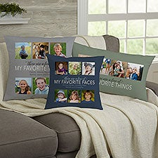 Personalized Photo Throw Pillows - My Favorite Things - 23178