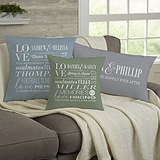 Personalized Couple Pillows - Better Together - 23183