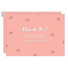 Rainbow Thank You Cards - 23302