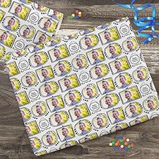 Personalized Photo Wrapping Paper - Frameworthy Photos - 23317