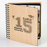 Personalized Graduation Wooden Photo Album - 2337