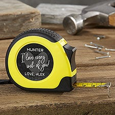 Personalized Tape Measure - Romantic Gift For Handyman - 23384