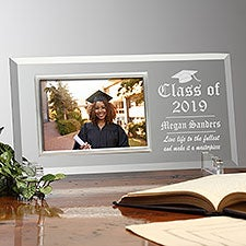 Personalized Engraved Glass Graduation Picture Frames - 23392