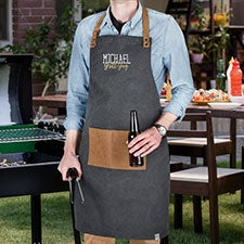 Personalized Grilling Apron by Foster & Rye - 23414