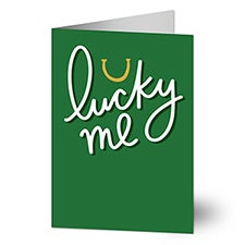 Lucky Me Greeting Card - 23416